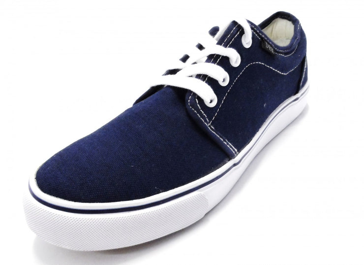 DEK Retro Navy Low Canvas Shoes