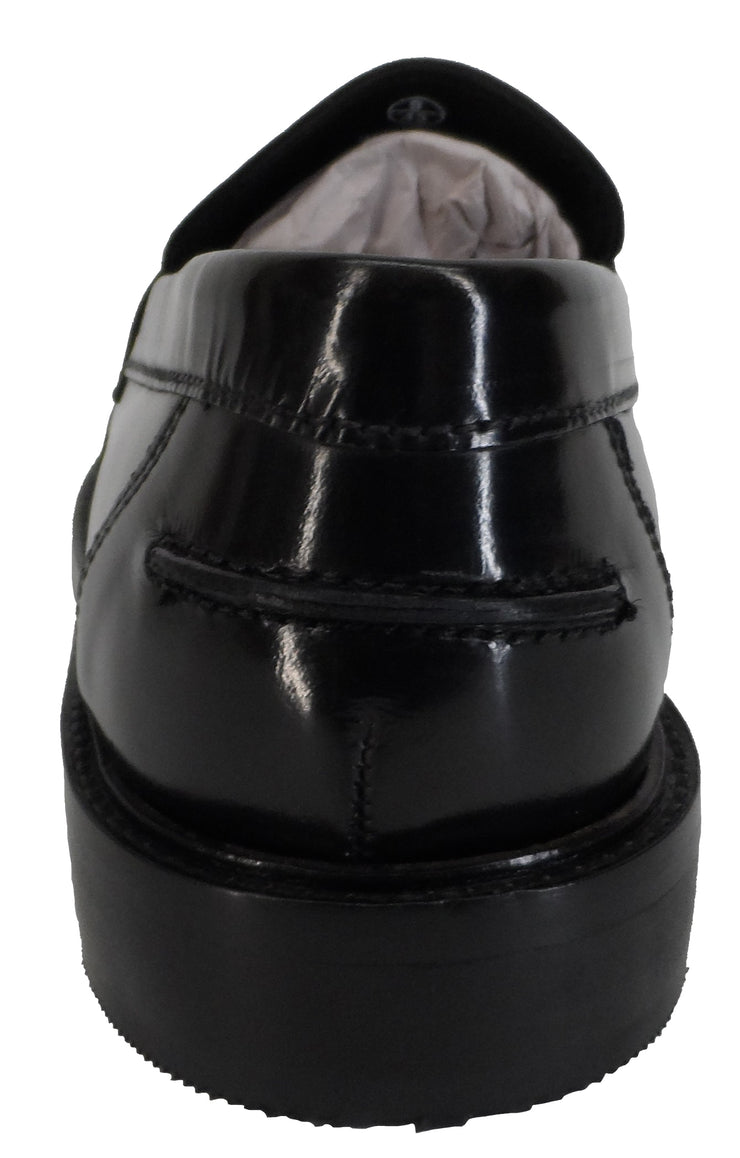 Ikon Original Weaver Black Retro, Ska, Northern Soul Tassel Loafers