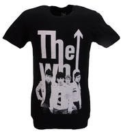 Mens Black Official The Who Elvis for Everyone T Shirt
