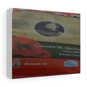 Remember Our Vets Stretched canvas - Merchandize.ca
