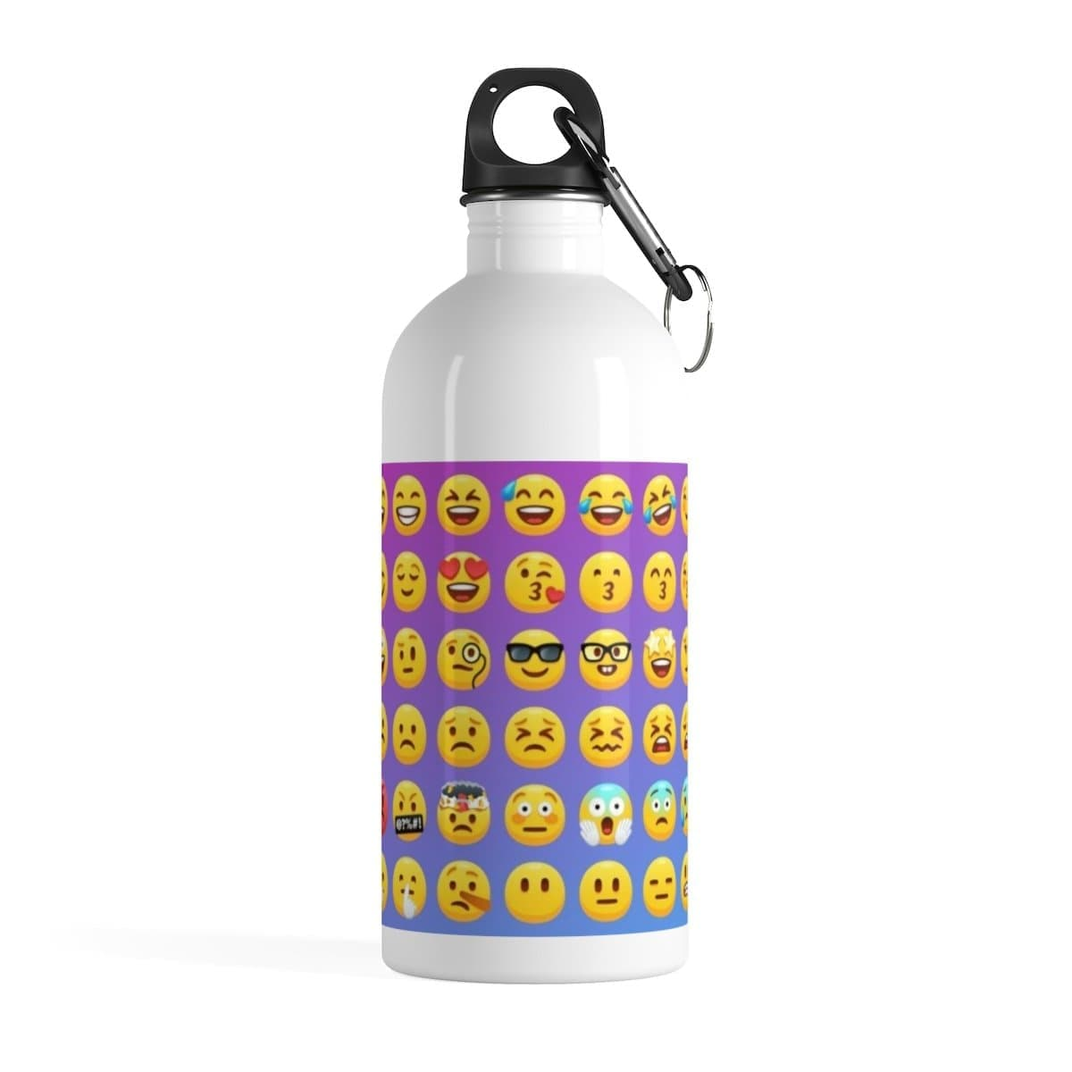Stainless Steel Emoji Water Bottle - Merchandize.ca