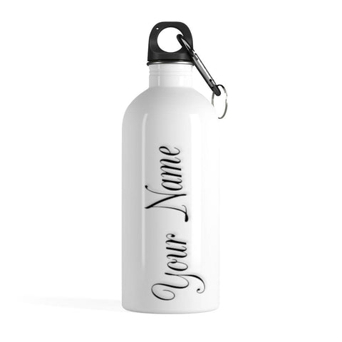 Stainless Steel Water Bottle With Your Name - Merchandize.ca