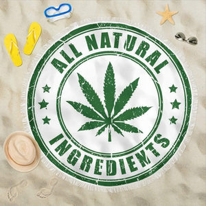 All Natural Ingredients Beach Blanket - Merchandize.ca