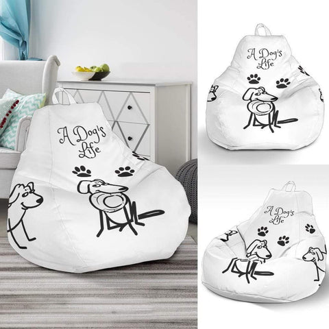 A DOG'S LIFE BEAN BAG CHAIR - Merchandize.ca