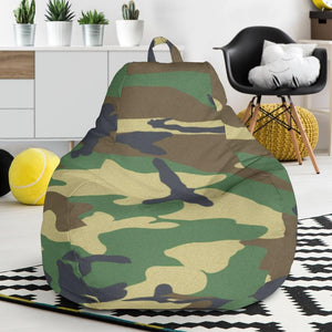 Woodland Camo Bean Bag Chair - Merchandize.ca