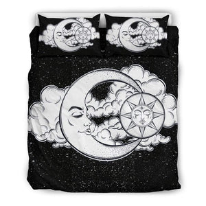 Sun and Moon Galaxy Bedding Set - Merchandize.ca