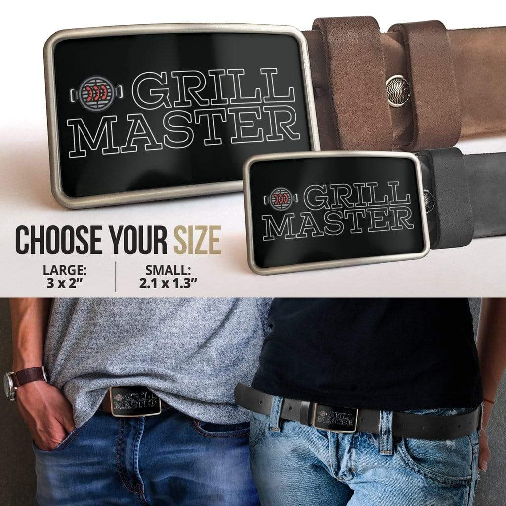 Belt Buckle Grill Master BBQ Barbecue - Merchandize.ca
