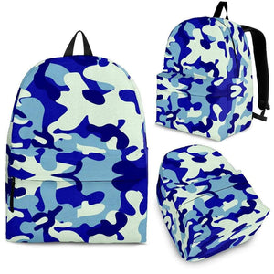 Blue Camouflage Backpack - Merchandize.ca