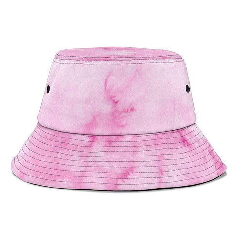 Bucket Hat Pink Pastel Watercolor - Merchandize.ca