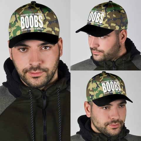 Staring Boobs Hat - Merchandize.ca