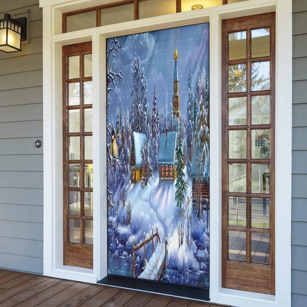 Winter Wonderland Door Sock - Merchandize.ca