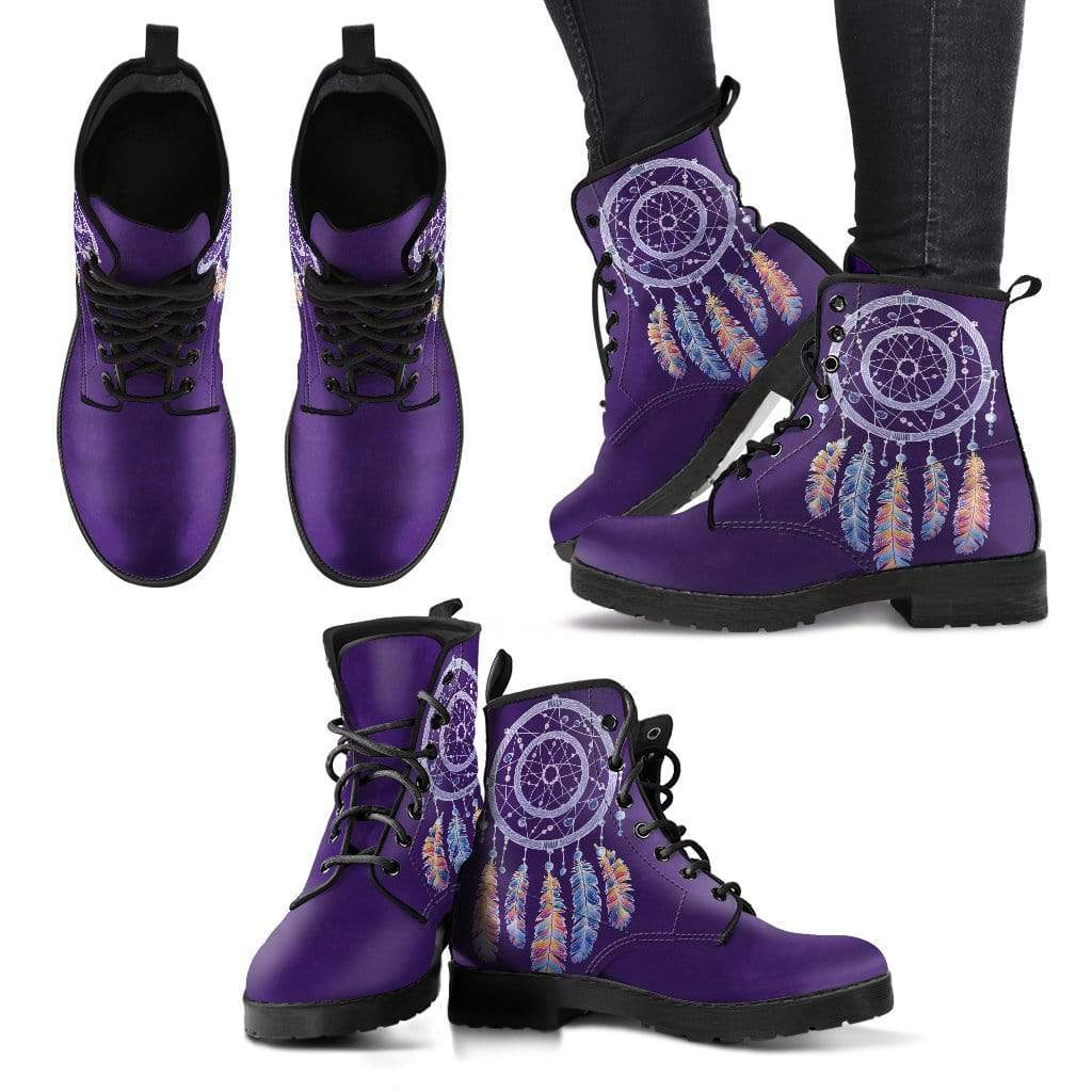 Dream Catcher Women's Leather Boots - Merchandize.ca