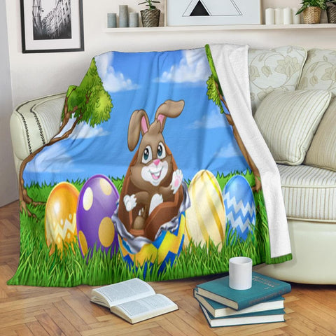 Easter Egg Cracking Micro Fleece Blanket - Merchandize.ca