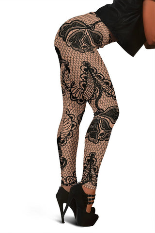 Black Lace Leggings - Merchandize.ca