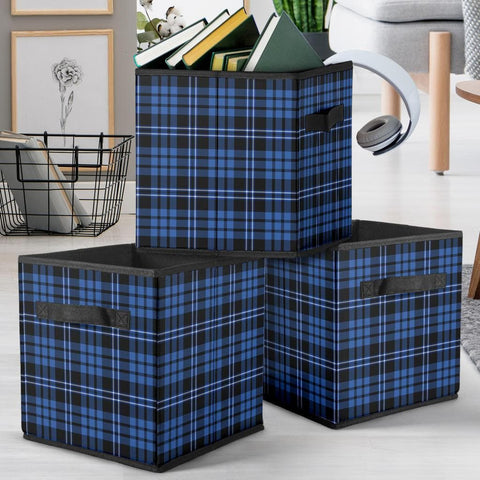 Blue Plaid Storage Cube - Merchandize.ca