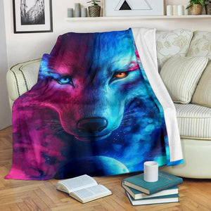 Mystical Wolf Micro Fleece Blanket - Merchandize.ca
