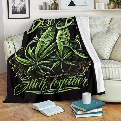 Best Buds Micro Fleece Blanket - Merchandize.ca