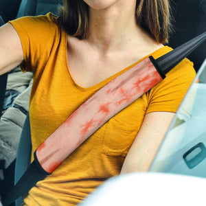 Orange Tie Dye Seat Belt Covers - Merchandize.ca