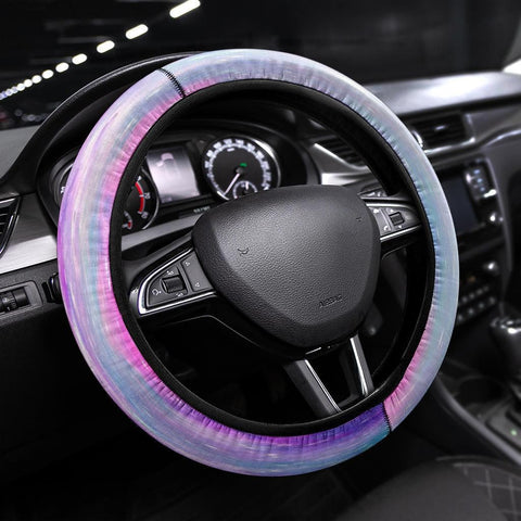 Cotton Candy Steering Wheel Cover - Merchandize.ca