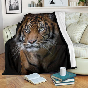 Tiger Micro Fleece Blanket - Merchandize.ca