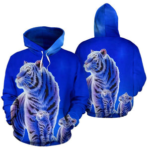 AOP Tiger and Cubs Hoodie - Merchandize.ca