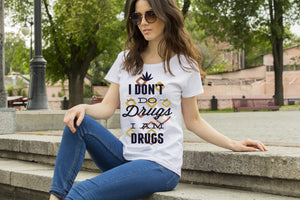 I am Drugs Unisex Jersey Short Sleeve T-Shirt - Merchandize.ca