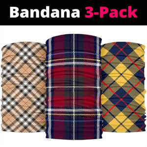 Luxury Tartan Collection of Bandana 3-Pack - Merchandize.ca
