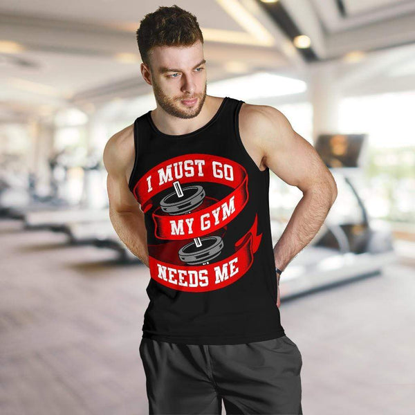 Men's Gym Mode All Over Print Tank Top - Merchandize.ca