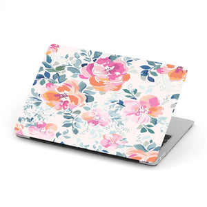 New Custom Designed Floral Pattern MacBook Case - Merchandize.ca