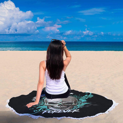 New Custom Designed Nothing Last Forever Beach Blanket - Merchandize.ca