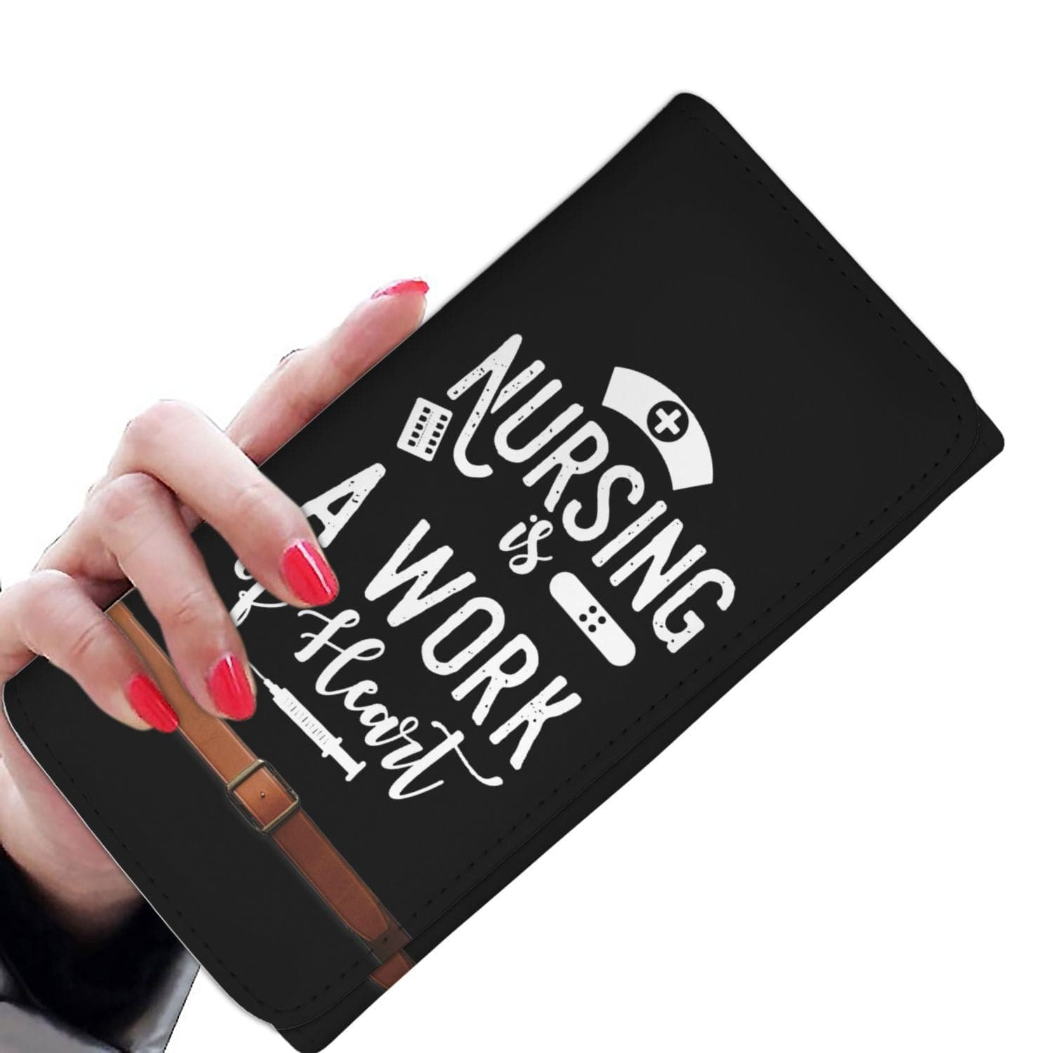New Custom Designed Nurse Wallet Case - Merchandize.ca