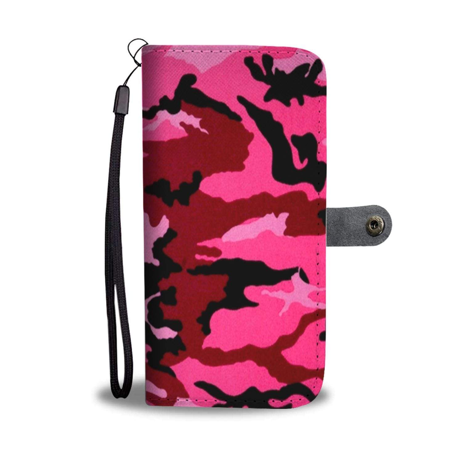 New Custom Designed Pink Camo Wallet Case - Merchandize.ca