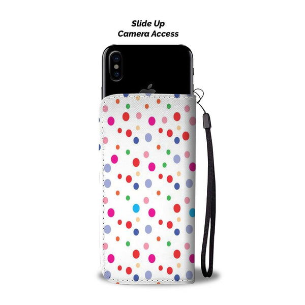 New Custom Designed Polka Dot Wallet Case - Merchandize.ca