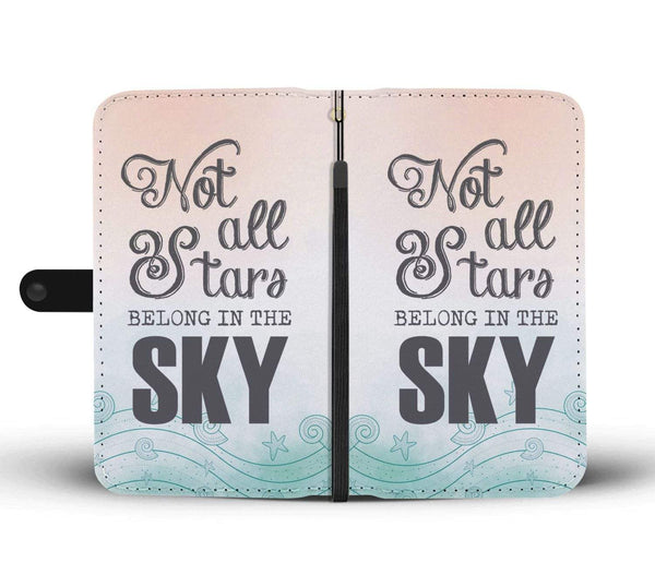 New Custom Designed Stars Fish Wallet Case - Merchandize.ca