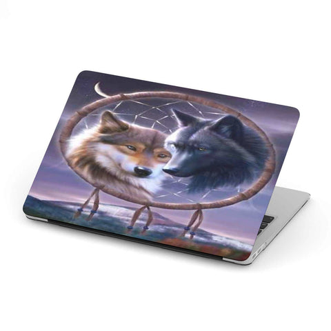 New Custom Designed Wolves Dream Catcher MacBook Case - Merchandize.ca