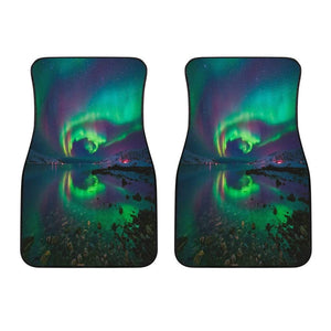 Northern Lights Front Car Mats (Set Of 2) - Merchandize.ca