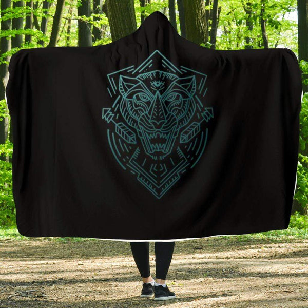 Panther Hooded Blanket - Merchandize.ca