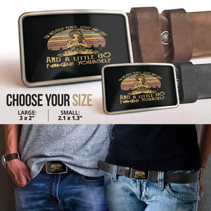 Peace Love and Light Belt Buckle - Merchandize.ca