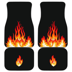 Quad Flame Bandana Car Mats - Merchandize.ca