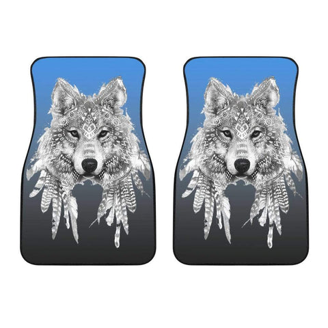 Spirit Animal Wolf Car Floor Mats - Merchandize.ca