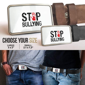 Stop Bullying Belt Buckle - Merchandize.ca