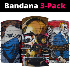 Street Art Style Headbands and Face Covers 3 Pack - Merchandize.ca