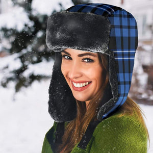 Blue Plaid Trapper Hat - Merchandize.ca