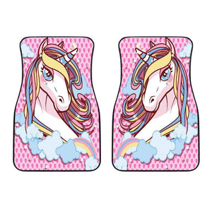 Unicorn Lovers Front Car Mats (Set Of 2) - Merchandize.ca