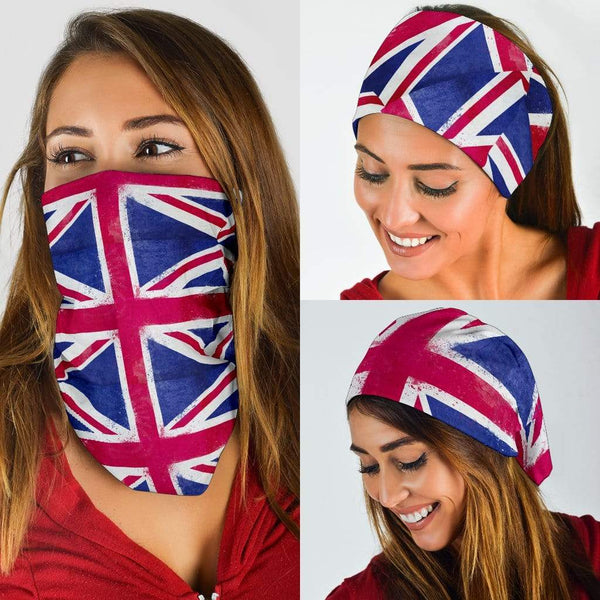 United Kingdom Flag Bandana Headbands 3 Pack - Merchandize.ca