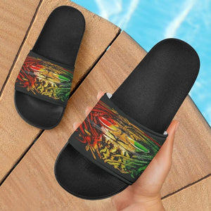 Reggae Lion Slide Sandals - Merchandize.ca