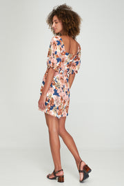 ELIZA MINI DRESS - BEBE FLORAL - WOODSTOCK - SAMPLE