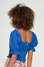 ISLA SHIRT TOP - BOYD BLUE