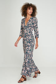 PRE - ORDER ARIA MAXI DRESS - MONET FLORAL - WOODSTOCK