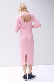 Frankie Knit Dress - Pink